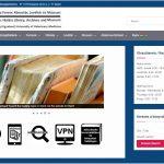 A Hutyra Ferenc Könyvtár, Levéltár és Múzeum honlapja