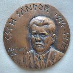 Cseh Sándor emlékérem