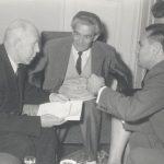 Kemény Armand 1962-ben (középen)