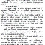 Részlet a Magyarországi állatorvosi egylet alapszabály-tervezetéből