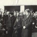 Dr. Manninger Rezső temetése, 1970. február 4.