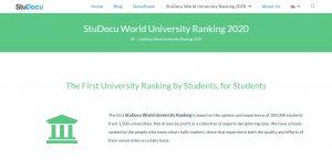 StuDocu Ranking