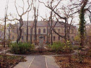 Az egykori rektori épület, ma könyvtár (Állatorvostudományi Egyetem)