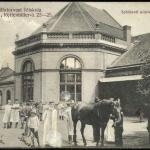 Képeslap: az állatorvosi főiskola sebészeti klinikájának épülete